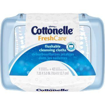 Cottonelle Flushable Wipes for Incontinence by Kimberly Clark