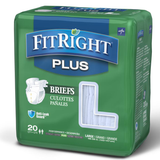 FitRight Plus Briefs - Adult Incontinence Briefs