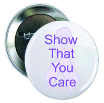 Cancer Button Show that you Care