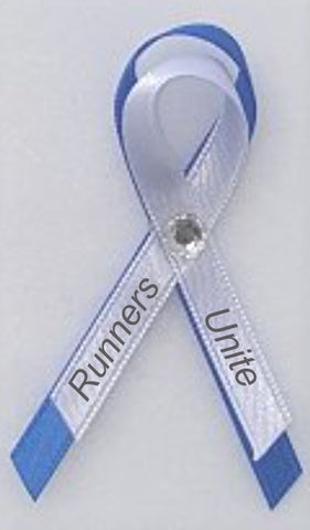 Runners Unite Awareness Ribbon Pin