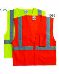 Screen Printed Safety Vest #1085 / #1086 - Awareness Promotionals