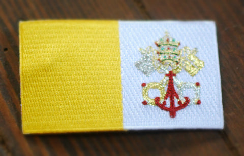 Vatican Flag Patch
