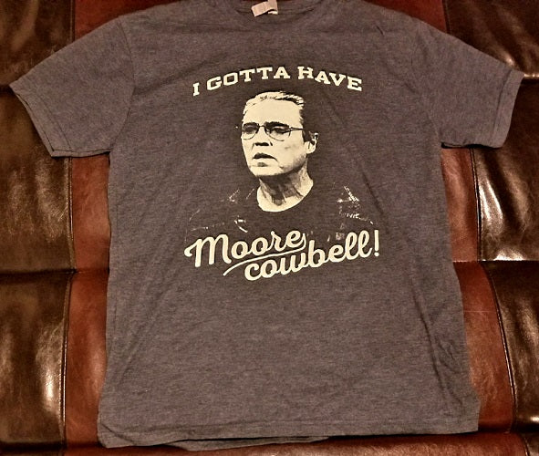 Christopher Walken More Cowbell T-Shirt Men's Large