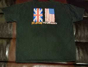 Def Leppard / Journey 2006 Staging / Lighting T-Shirt Men's X Large