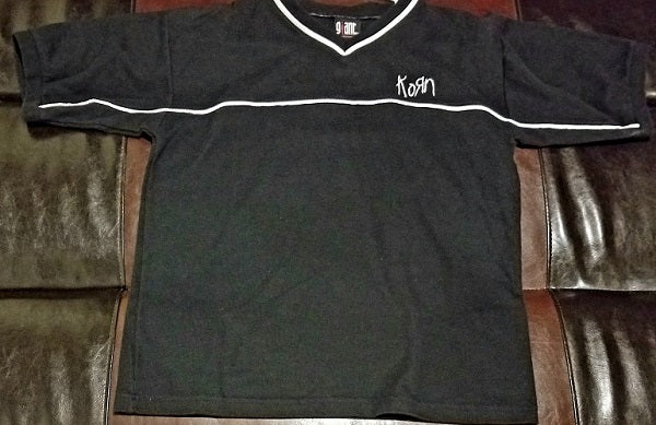 Korn Vintage Soccer Jersey Shirt Men's Large - Giant Label