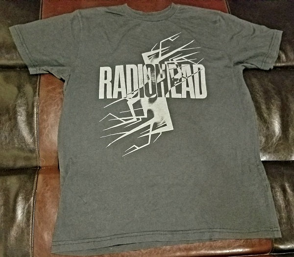 Radiohead Waste Graphic T-Shirt Men's XXL out of print - W.A.S.T.E.