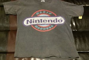 MARIO MADNESS NINTENDO VINTAGE 1989 Shirt Men's XL