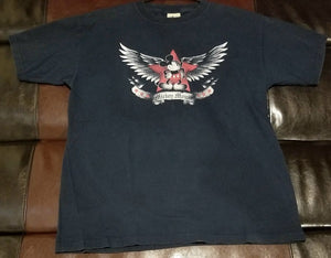 MICKEY  MOUSE WINGS/STAR DISNEY T-Shirt Men's LARGE