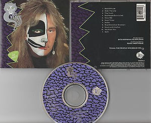 Peter Criss CD, Criss Cat #1, RARE,Orig 1994 TNT, KISS, Queensryche, Ace Frehley