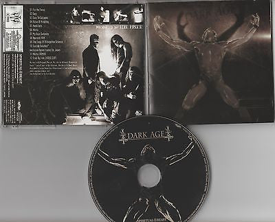 Dark Age CD, Self-titled, Japan Import,S/T, Same, RARE, ECD, 2004 Spiritual Beast