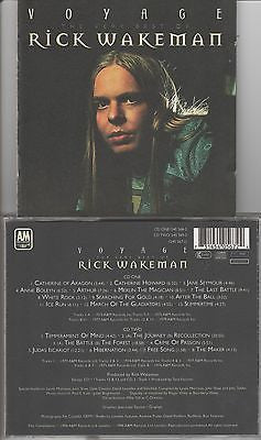 Rick Wakeman CD, Voyage, Yes, Very Best Of, Greatest Hits, 2-Disc, 1996 A&M