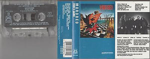 Mordred Cassette, Fool's Game, RARE 1st Press, Original 1989 Noise