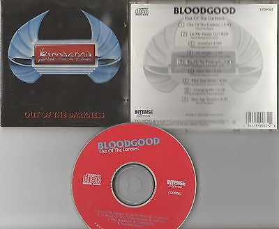 Bloodgood CD, Out of the Darkness, Original 1989 Intense, 1st Press