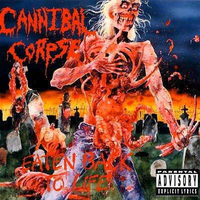 Cannibal Corpse CD, Eaten Back to Life, Orig 1990 Metal Blade, 1st Press, RARE