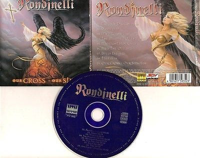 Rondinelli CD, Our Cross Our Sins,German Import, Black Sabbath, Rainbow,2002 MTM