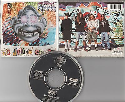Excel CD, The Joke's On You, 1st Press, Orig 1989 Caroline, Infectious Grooves