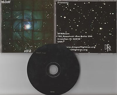 Hlidolf CD, V01d, RARE,Vidar Ermesjo, Hjarnidaudi,2002 Dragon Flight, Void, Vo1d