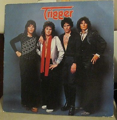 Trigger LP, Self-titled, RARE, Original 1978 Casablanca, S/T, Same