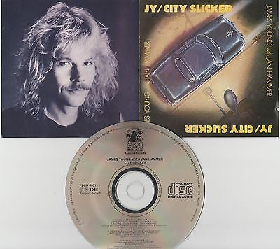 James Young with Jan Hammer CD, City Slicker, Styx, Original 1985 Passport