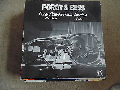 Porgy & Bess LP, Oscar Peterson and Joe Pass, Pablo 2310-779, NM