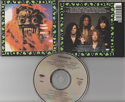 Katmandu CD, Self-titled, Fastway, Krokus, Asia, Original 1991 Epic, S/T, Same