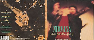 Nirvana CD, Smells Like Teen Spirit, Maxi Single, RARE, 1991 Geffen