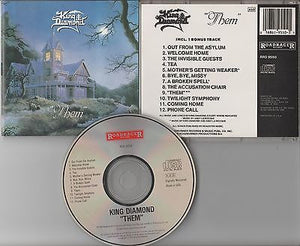 King Diamond CD, Them, 1st Press 1988 Roadrunner, RRD 9550, Mercyful Fate