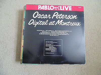 Oscar Peterson, LP, Digital at Montreux, Red Vinyl, Pablo D2308224, M/NM