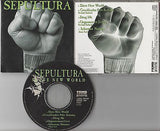 Sepultura CD, Slave New World, RARE, Japan Import,Orig 1994 Roadrunner, Soulfly