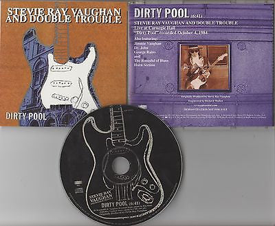 Stevie Ray Vaughan CD, Dirty Pool, RARE Promo Single, Orig 1997 Epic, ESK 3442