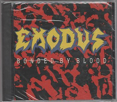Exodus CD, Bonded By Blood, SEALED, 1989 Combat, Slayer, Paul Baloff, Piranha