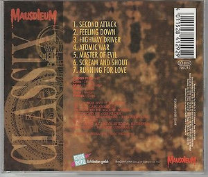 Crossfire CD, Second Attack, RARE 1994 Mausoleum Classix, Gerrman Import, 2nd