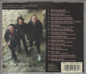 Mortification CD, The Best Of... Five Years, Remaster, Compilation, 1995 Intense