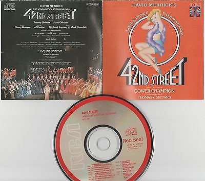 42nd Street CD, Original Broadway Cast, No Back Insert, Japan Import, 1993 RCA
