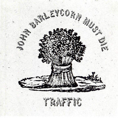 Traffic CD, John Barleycorn Must Die, Steve Winwood, 1989 Island / BMG
