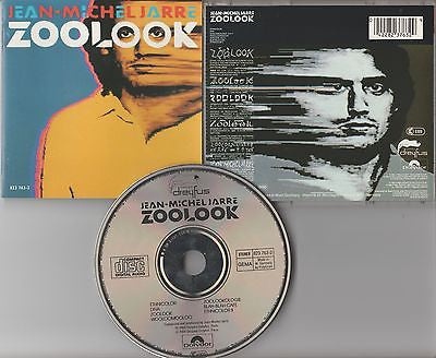 Jean-Michel Jarre CD, Zoolook, W. German Import, RARE, Lou Reed, Dreyfus Records