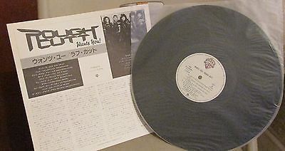 Rough Cutt LP, Wants You, Japan Import W/ Obi, Original 1986 WB