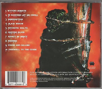 Wykked Wytch CD, Something Wykked This Way Comes,RARE,1996 Cauldron,Wicked Witch
