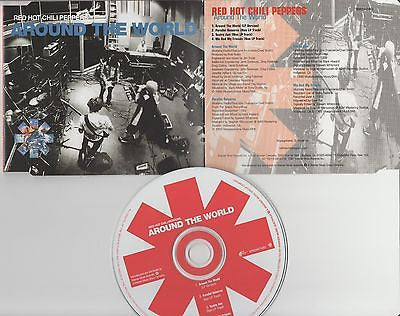 Red Hot Chili Peppers CD, Around the World,Maxi Single, Me & My Friends, 99 WB