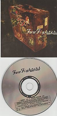 Foo Fighters CD, Next Year, RARE DJ Promo Single,Orig 2000 Roswell / RCA,Nirvana