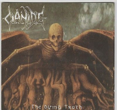 Cianide CD, The Dying Truth, RARE, OOP, 1992 Grind Core, 1st Press