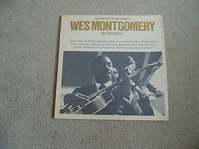 Wes Montgomery, 2 LP, Beginnings, Blue Note BN-LA-531-H2, NM
