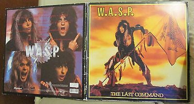 W.A.S.P. LP, The Last Command, Numbered Yellow Vinyl, RARE, 2003 GMR, Bonus,Wasp