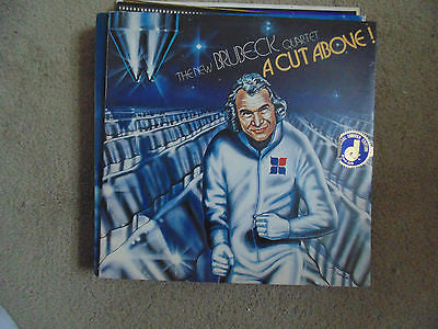 Dave Brubeck Quartet 2 LP, Cut Above, Direct Disk, NM