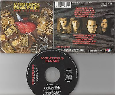 Winters Bane CD, Heart of a Killer, German Import, Judas Priest, 1993 Massacre