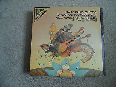 Claude Bolling: Concerto LP, Angel Romero, George Shearing, Angel DS-37327, M/NM