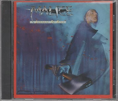 Malice CD, License to Kill, SEALED, 2004 Wounded Bird, James Neal