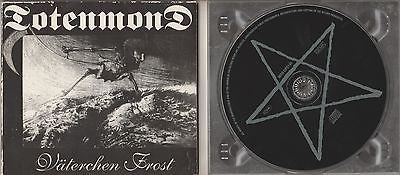 Totenmond CD, Vaterchen Frost, RARE, 1997 Massacre, German Import, Väterchen