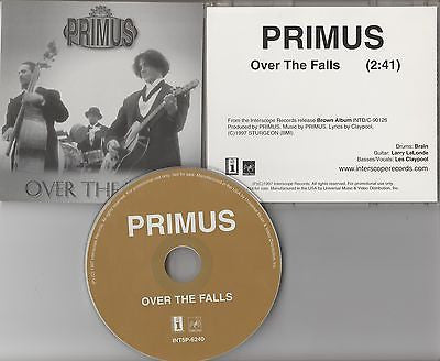 Primus CD, Over the Falls, RARE Promo Single,Original 1997 Interscope, Possessed