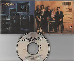 Contraband CD, Self-titled, 91 Impact, MSG, Ratt, Vixen, L.A. Guns, S/t, Same